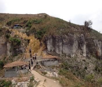 Mount Mongengenge near Kinshasa in Democratic Republic of Congo