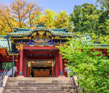 Shizuoka Japan at Kunozan Toshogu Shrine