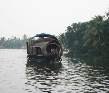 Houseboat on the Bakwaters