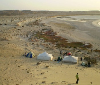 Camping at El Argoub