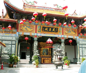 Old Chinese Temple in Klang