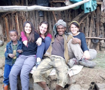 With our customers discovering the local side of Ethiopia