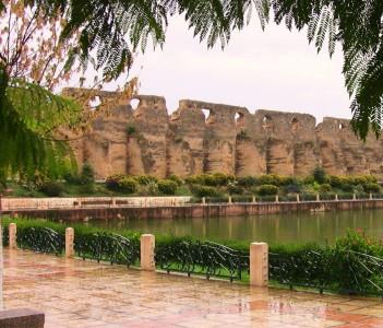 Jardins palce of Meknes