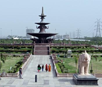 Dalit Prernasthal Memorial Fountain