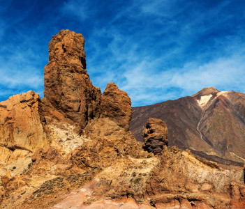 The Peak of Moun Teide Volcano and National Park, Tenerife, Canary Island, Spain