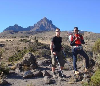 rongai route(way to mawenzi tarn hut