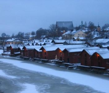 Borgå in December