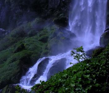 Cascada en el Lanin