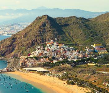Playa de Las Teresitas near Santa Cruz de Tenerife