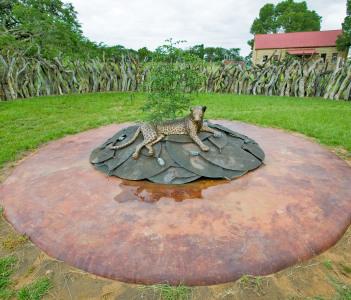 Zulu battle memorial at Rorke's Drift Shiyani Battlefield