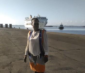 Cruise ship Guiding