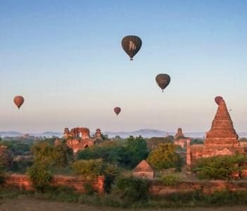 Have a taste of fling over Bagan