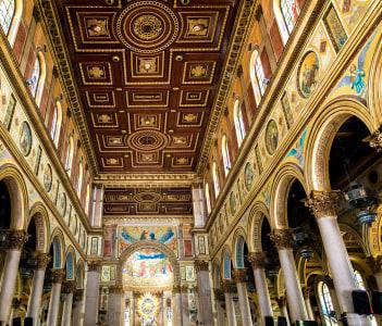 Nossa Senhora de Nazare Cathedral in Belem do Para, Brazil