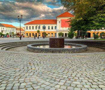Sepsiszentgyorgy Sfantu Gheorghe Transylvania Romania Europe