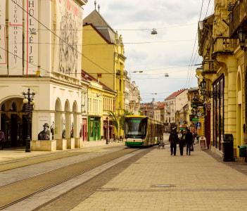 Miskolc City View Hungary