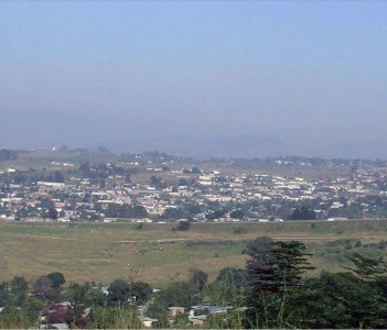 Panorama of Manzini, Swaziland