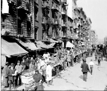 Lower East Side in the 1890's
