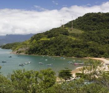 Coast between Rio and Paraty