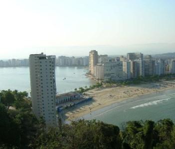 Landscape in Santos