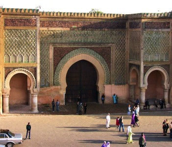 Gate center place, Meknes
