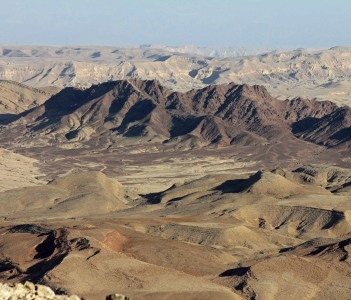 The Colors of Negev desert