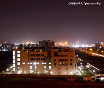 Noida in Night