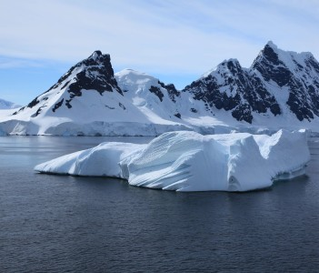 Iceberg in the Gerlache Strait, Antarctica