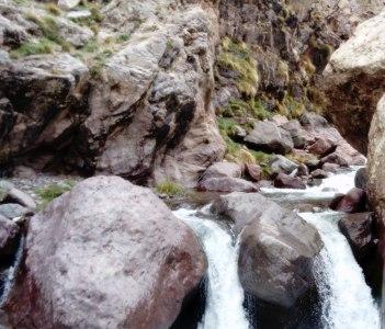 the way to climb to climb the toubkal peak