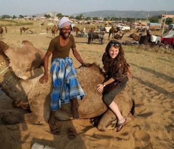 pushkar desert camel safari