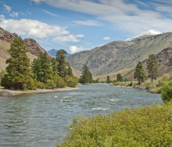 Salmon River in Central Idaho