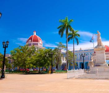 Main Square Cienfuegos, Cuba