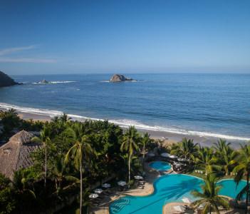 Ixtapa beach Guerrero Mexico