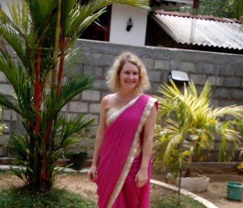 Dress in sri lanka system at our home