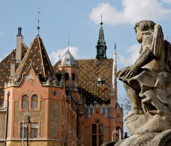 City Hall (Varoshaza), Kecskemet Hungary