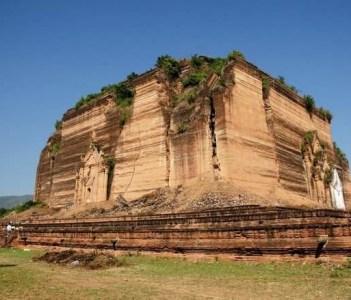 Unfinished pagoda