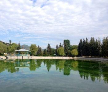 Vanadzor Lake, Armenia