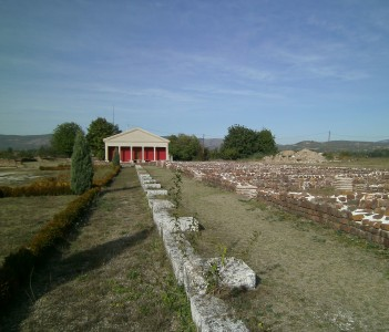 Mediana Ruins of Constantine's Palace Nis