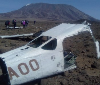 remain of plane carsh in rongai route