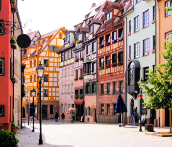 Half-timbered houses of the Old Town