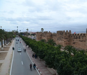 Medina Walls at Taroudant