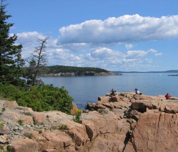 Acadia Thunder Hole View