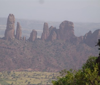 Scenic Mountains of Gheralta area,Tigrai well recommended for rock climbers and it is a home of the Rock hewn churches