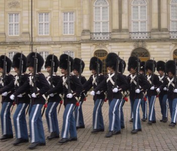 Change of Guard, The Royal Guard