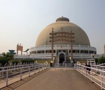 Buddhist monument Deeksha Bhoomi, Nagpur, India