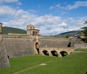 Military fort at Jaca Spain