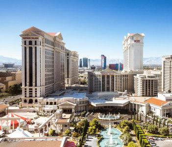 Aerial view in Las Vegas Nevada