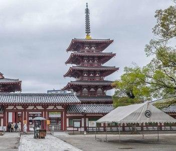 Shitenno-ji Temple Precinct, Tennoji, Osaka