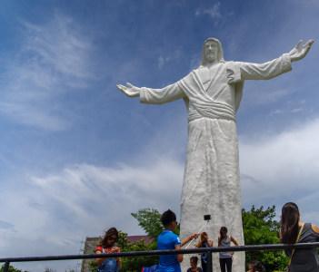 Jesus statue at the Monasterio de Tarlac in Philippines