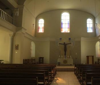 Die St.-Katharinen-Kirche von innen