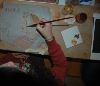 Etruscan paint